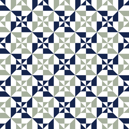 Seamless abstract geometric pattern background Illustration