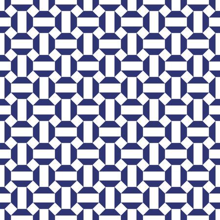 Fondo de patrón de octágono abstracto geométrico transparente