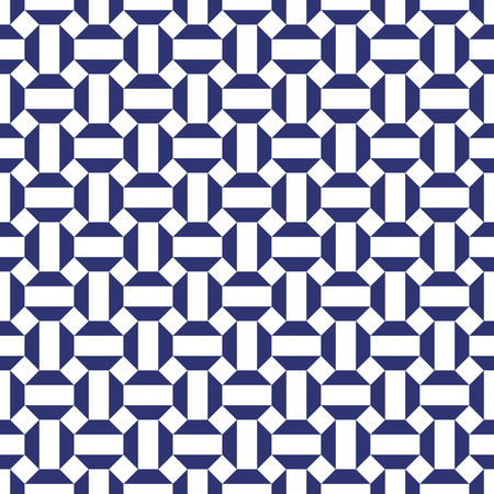 Seamless geometric abstract octagon pattern background