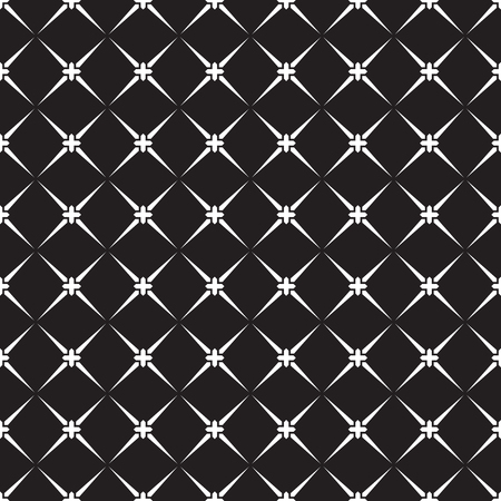 Seamless vintage star check pattern. Vintage star square background pattern wallpaper.