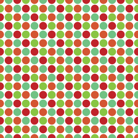 Seamless Christmas wrapping paper pattern. Festive Christmas dot pattern.