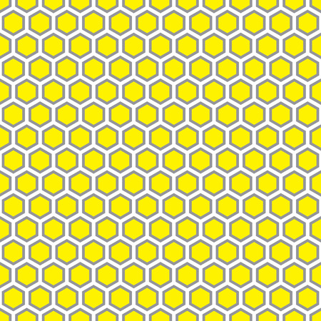 Seamless abstract honeycomb pattern background. Ideal for packaging and label designs.