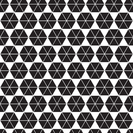 Seamless abstract geometric triangle hexagon form facet pattern. Triangle texture background. Banco de Imagens - 120574029