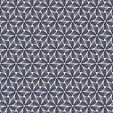 Seamless Art Deco feather pattern