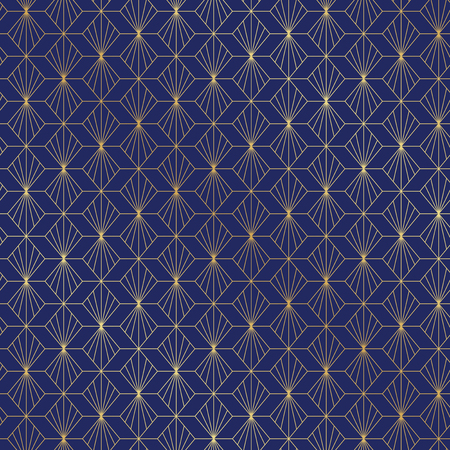 Seamless Art Deco pattern background
