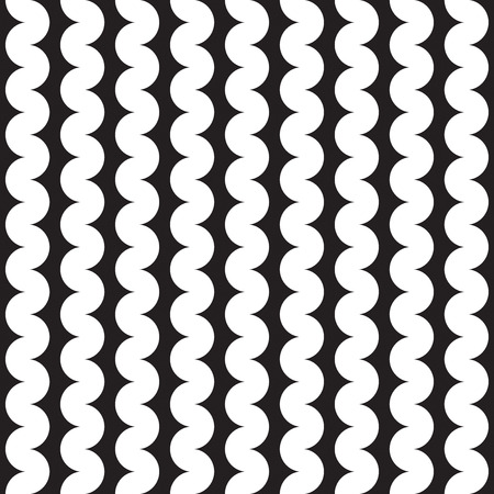 Seamless abstract squiggle wave pattern background Stock Vector - 123561059