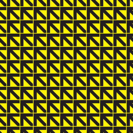 Seamless direction arrow pattern background
