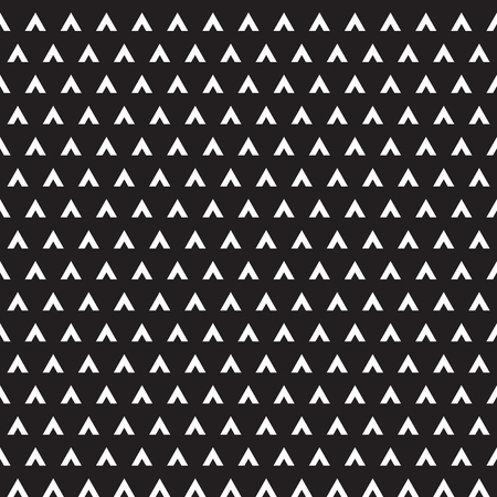 Seamless abstract geometric arrow triangular pattern