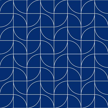 Seamless Art Deco geometric line pattern background