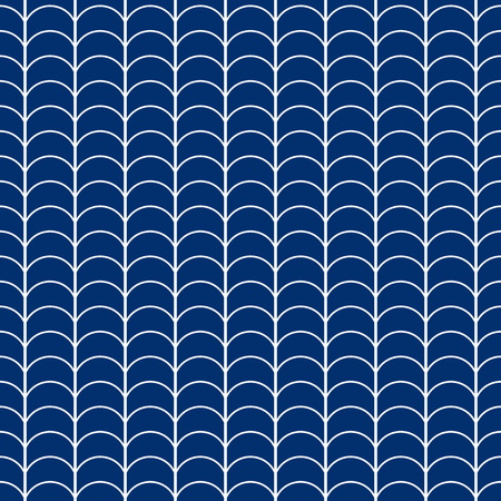 Seamless abstract geometric scale pattern background