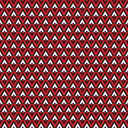 Seamless Art Deco abstract geometric triangle pattern Ilustração