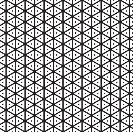 Seamless vintage inline inset offset triangle pattern background Illustration