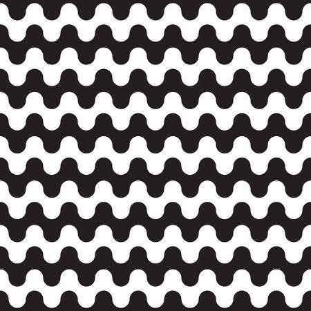 Seamless geometric wave pattern background