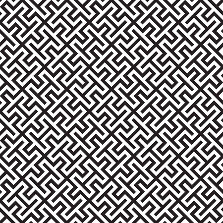 Seamless abstract geometric background pattern texture Illustration