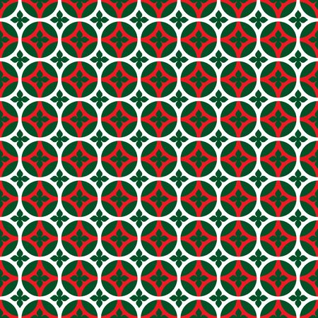 Seamless Christmas wrapping paper pattern