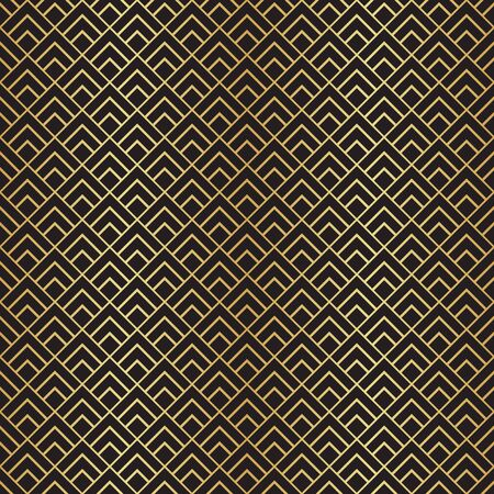 Seamless Art Deco pattern background wallpaper 일러스트