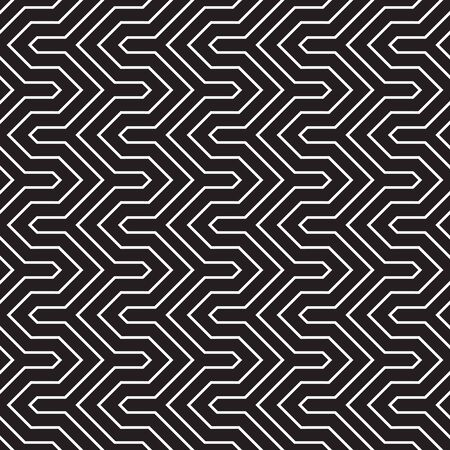 Seamless Abstract Interlocking Geometric Background Texture Pattern
