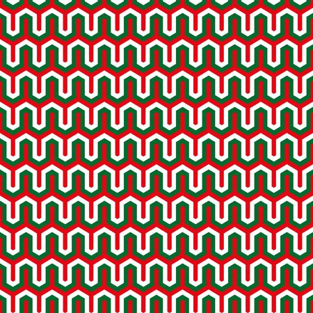 Seamless Christmas wrapping paper pattern background