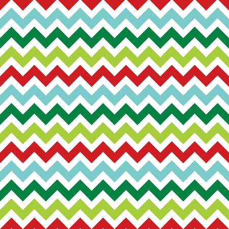 Seamless Christmas zigzag pattern background. 일러스트