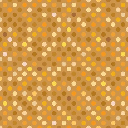 Seamless gold dot pattern background wallpaper. 일러스트