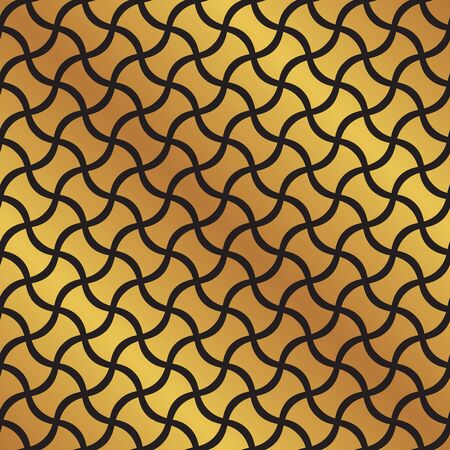 Seamless islamic abstract intersecting curve pattern 일러스트