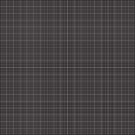 Black grid pattern background texture.