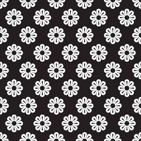 Seamless flower wallpaper pattern background