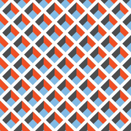 Seamless Geometric Pigeonhole Pattern Texture Background Wallpaper.
