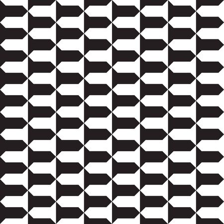 Seamless abstract geometric pattern background Ilustração