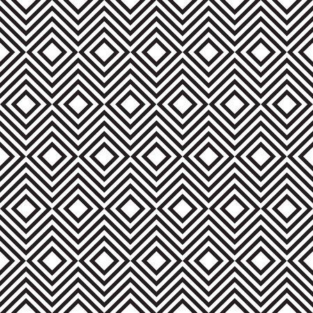 Abstract seamless geometric pattern background Ilustração