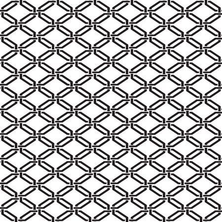 Seamless vector lattice trellis interwoven damask wallpaper