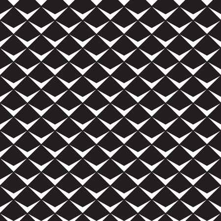 Seamless abstract geometric pattern. Black and white.