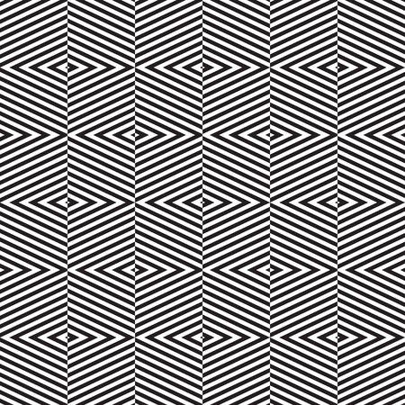 Seamless abstract geometric alternating chevron diagonal pattern