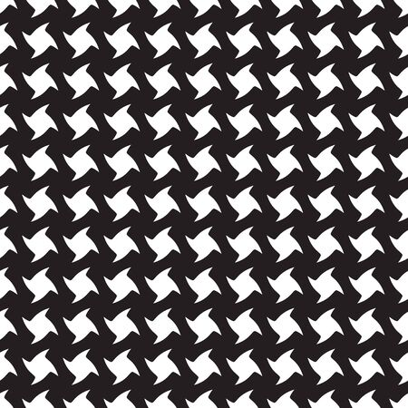 Abstract seamless twisted square pattern background