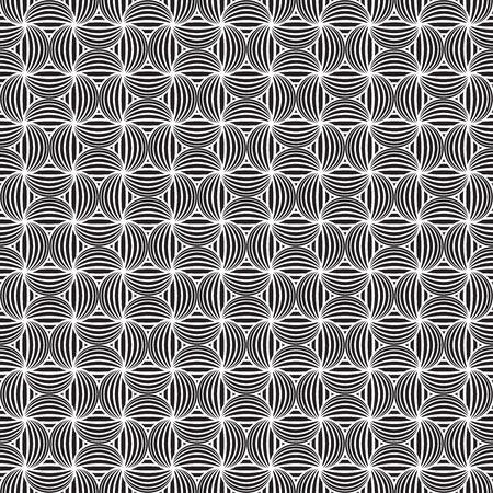 Seamless Art Deco Japanese pattern background
