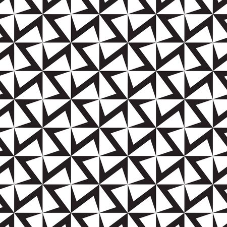 Seamless geometric abstract cross pattern