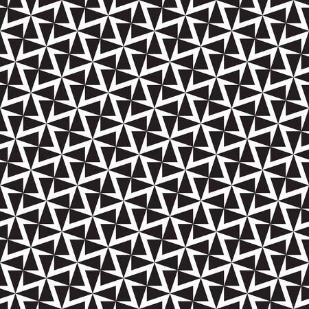 Seamless geometric abstract cross pattern Imagens - 146434569