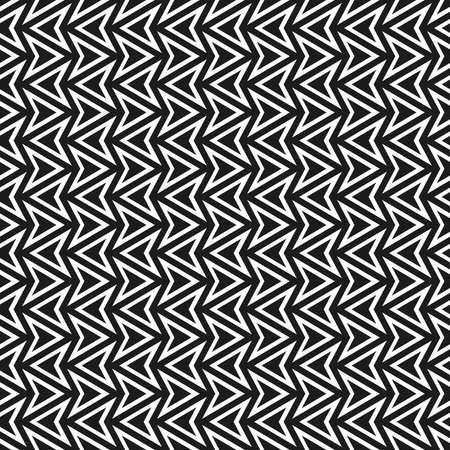 Seamless abstract geometric arrow pattern