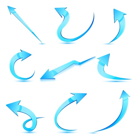 Set of Arrow Vector