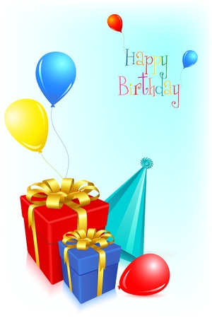 Birthday Card Stock Vector - 8778217