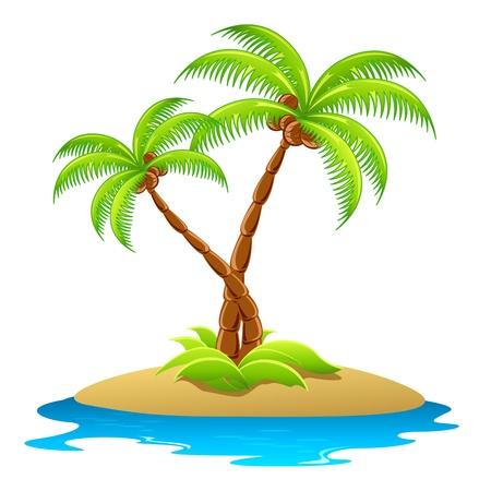 arbre     ? � feuillage persistant: Palmier
