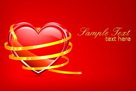 Valentine Card Stock Vector - 8778205