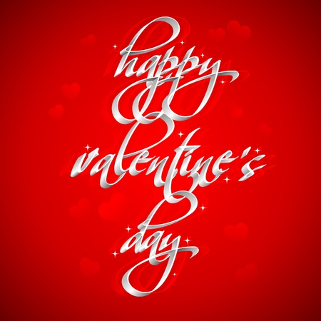 truelove: illustration of happy valentines card on love background