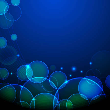 cosmo: illustration of abstract glowing background with glitter Stock Photo