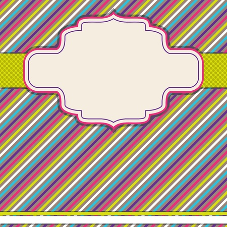 illustration of copy space on colorful pattern background Stock Vector - 13003287