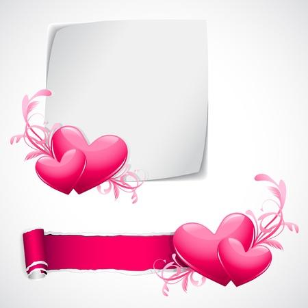 truelove: illustrazione del cuore lucido su template amore Vettoriali