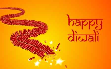 firecracker: illustration of burning firecracker for celebrating Diwali Stock Photo