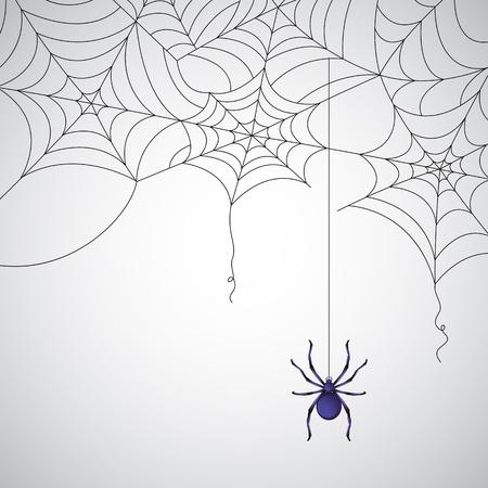 spinnennetz: Darstellung Spinnennetz-Muster auf abstrakten Hintergrund