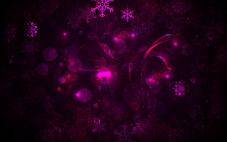 illustration of Christmas background with snowflakes Vector