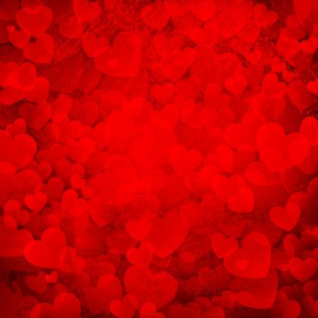 truelove: illustrazione di sfondo amore arrugginito con mazzo di cuori Vettoriali